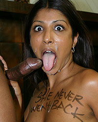 Dusty Deville - Indian slut black branded interracial blowjob cum