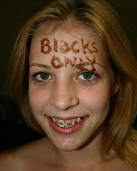Leah Luv Blacks On Blondes Pics