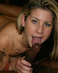 Lisa Marie - Lisa Marie interracial marked sucks dick eats cum
